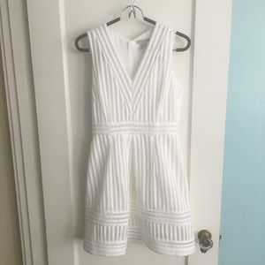 H&M white summer dress
